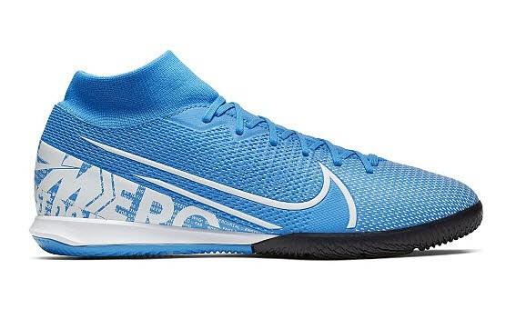 Nike SUPERFLY 7 ACADEMY IC,BLUE HERO/WHI - Bild 1