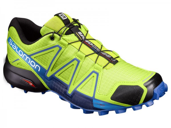 Salomon SHOES SPEEDCROSS 4 Lime Green/Nauti