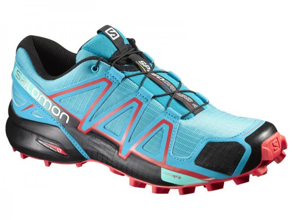 Salomon SHOES SPEEDCROSS 4 W Blue Jay/BLACK