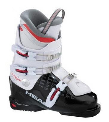 SKIBOOT EDGE J 3  BLACK - WHIT