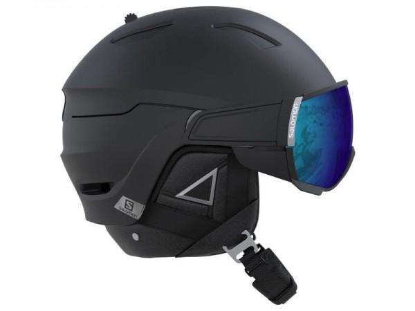 Salomon Helmet Driver+ Black/Silver/Solar