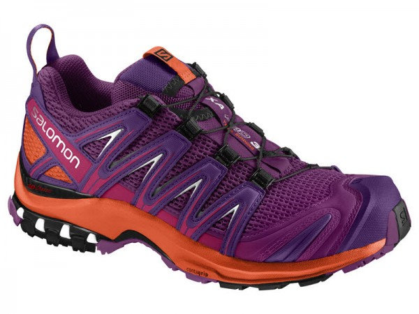 Salomon SHOES XA PRO 3D W GRAPE JUICE/Flame